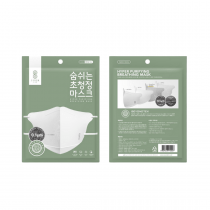 SoomLab Hyper Purifying Breathing Face Mask White Single