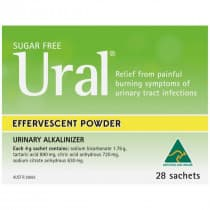 Ural Effervescent Powder Original 4g 28 Packs