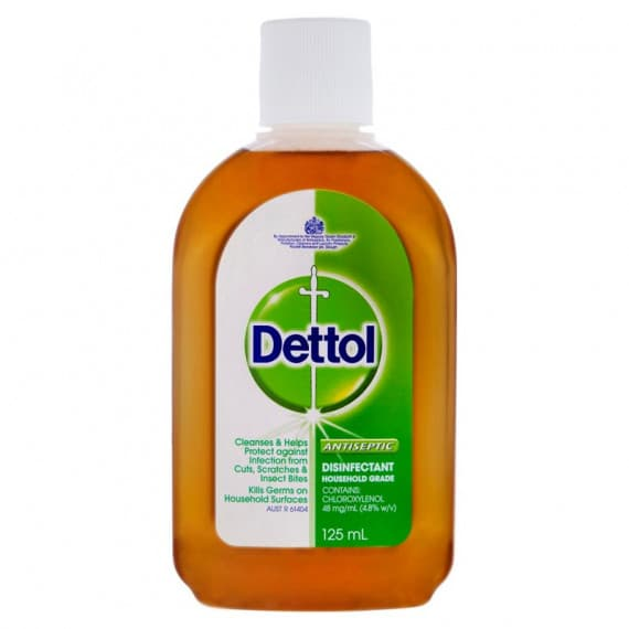 Dettol Antiseptic Disinfectant Household Grade 125ml