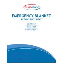 Emergency Blanket Surgipack 6016