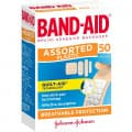 Band-Aid Assorted Plastic Shapes 50 Pack