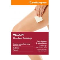 Melolin 5 X 5cm 030913 Pack 5
