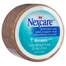 Nexcare Micropore First Aid Tape 25mm x 9.1m Tan