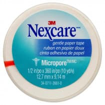 Nexcare Micropore First Aid Tape 12.5mm x 9.1m White