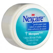 Nexcare Micropore First Aid Tape 25mm x 9.1m White
