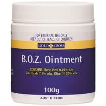 Gold Cross B.O.Z Ointment 100g