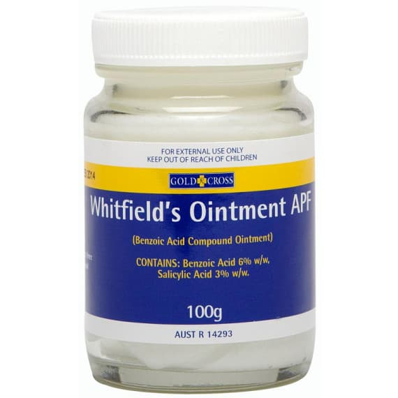 Gold Cross Whitfields Ointment 100g