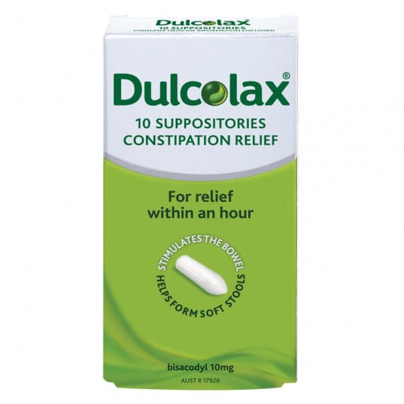 Dulcolax Suppos 10mg Pack 10