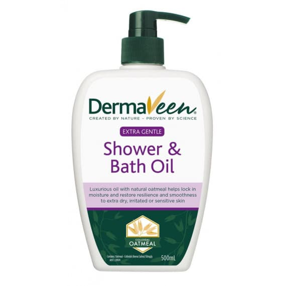 Dermaveen Extra Gentle Shower & Bath Oil 500ml