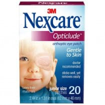 Nexcare Opticlude Orthoptic Eye Patch Junior 20 Pack