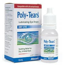 Poly Tears Dry Eye Drops 15ml
