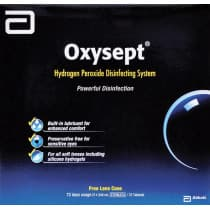 Oxysept 240ml x 3 + Tabs 72