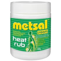 Metsal Cream Heat Rub 500g
