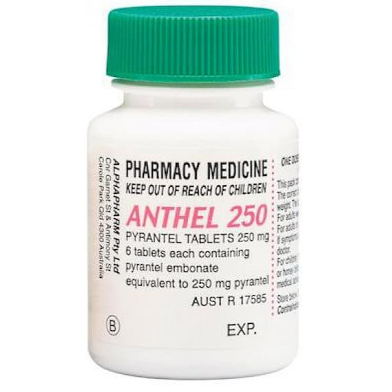 Anthel 250mg 6 Tablets