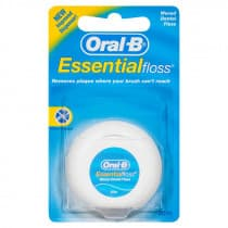 Oral-B Essential Dental Floss Waxed 50m