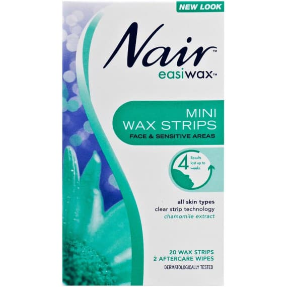 Nair Easiwax Mini Wax Strips 20 Pack