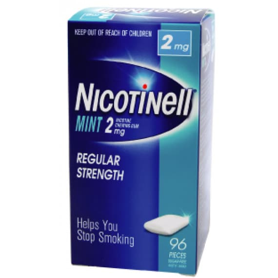 Nicotinell Gum Mint 2mg 96 Pieces