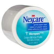 Nexcare Micropore First Aid Tape 50mm x 9.1m White