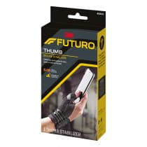 Futuro 45843ENR Deluxe Thumb Stabilizer Small - Medium Black