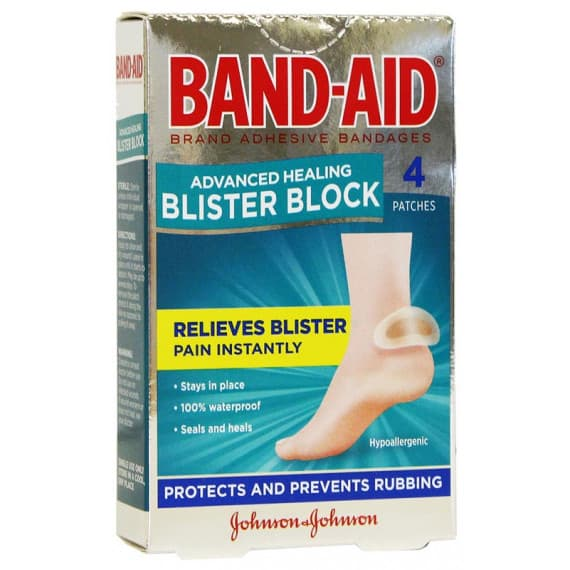 Band-Aid Advanced Healing Blister Block 4 Pack