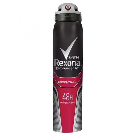 Rexona Men Essentials Antiperspirant Aerosol 250ml