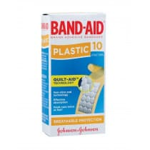 Band-Aid Plastic Sterile Strips 10 Pack