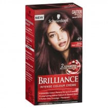 Schwarzkopf Brilliance Intense Permanent Hair Colour 49 Dark Red Violet