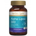 Herbs of Gold Alpha Lipoic 300 120 Capsules