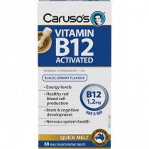 Carusos Vitamin B12 Activated 60 Tablets