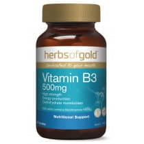Herbs of Gold Vitamin B3 500mg 60 Tablets