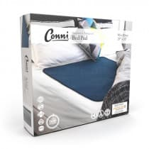 Conni Reusable Bed Pad 85 x 95cm Teal Blue