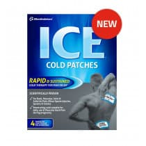 Mentholatum Ice Cold Patches 4 Pack