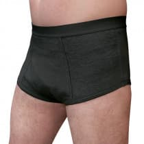 Conni Mens Oscar Briefs Black Large