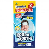 Kool n Soothe Kids Fever Relief 2 Sheets