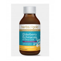 Herbs of Gold Elderberry Echinacea & Olive Leaf 200ml