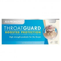 Blis Probiotics Throat Guard Probiotic 30 Lozenges