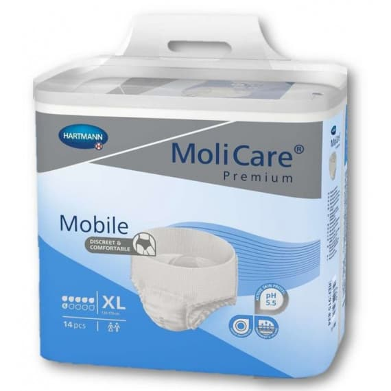 MoliCare Premium Mobile 6 Drops Extra Large 14 Pack