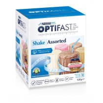 Optifast VLCD Assorted Shake Pack 53g 10 pack