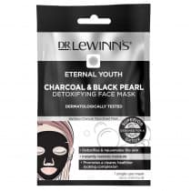 Dr. Lewinns Eternal Youth Charcoal & Black Pearl Detoxifying Face Mask 1 Pack