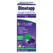 Dimetapp Cough Cold + Flu Kids Elderberry + Ivy Leaf 200ml