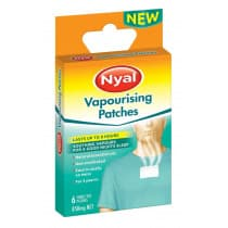 Nyal Vapourising Patches 6 Pack 850mg