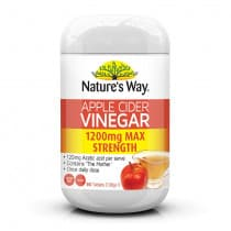 Natures Way Apple Cider Vinegar 1200mg Max Strength 90 Tablets