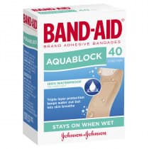 Band-Aid Aquablock Regular 40 Sterile Strips