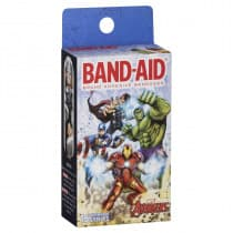 Band-Aid Character Avengers 15 Strips
