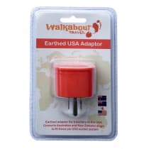 Walkabout Travel Adaptor Aus/NZ to USA 1 Pack