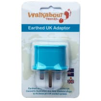 Walkabout Travel Adaptor Aus/NZ to UK 1 Pack