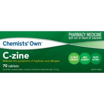 Chemists Own C-Zine 10mg 70 Tablets