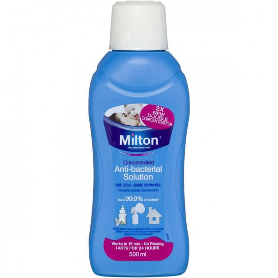 Milton Concentrated Anti-bacterial Solution 2% 500ml