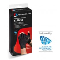 Thermoskin Thermal Compression Gloves Medium Black 1 Pair