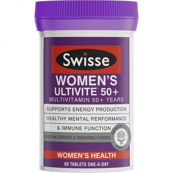 Swisse Womens Ultivite 50+ 60 Tablets